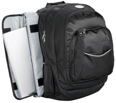 LIGHTPAK Sac à dos pour laptop Business 'ADVANTAGE', noir