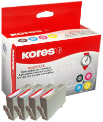 Kores Multipack encre G1717KIT remplace hp CD975AE/CD972AE/