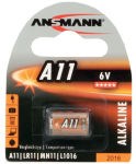 ANSMANN Pile alcaline A11, 6 Volt, blister de 1