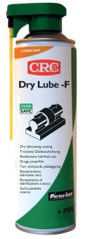 CRC Revêtement lubrifiant sec DRY LUBE-F, spray de 500 ml