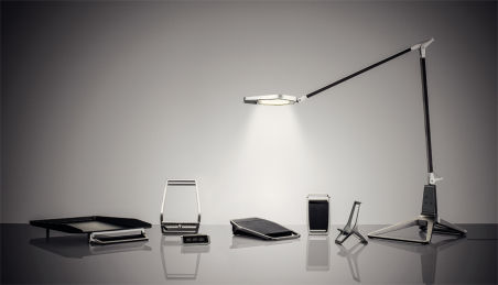 LEITZ Support pour smartphone Style, argent