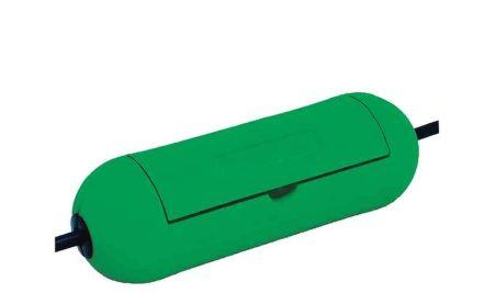 brennenstuhl Boîtier de câbles, vert