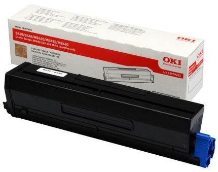 OKI Toner pour OKI B430/B430d/B430dn, noir, HC