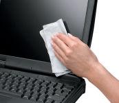 Fellowes Lingettes nettoyantes écran, boîte distributrice