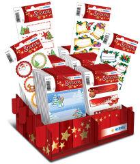 HERMA Autocollants de Noel cadeaux'', présentoir de comptoir