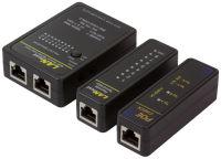 LogiLink testeur de câble réseau avec  PoE Finder, noir