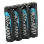 ANSMANN Pile nickel-zinc, Micro AAA, 900 mAh, Shrink de 4