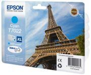 EPSON Encre pour EPSON WorkForcePro 4000/4500, cyan, XL