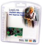 Logilink Carte réseau PCI Gigabit Ethernet RJ45,