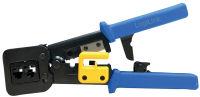 LogiLink Pince à sertir coupante, bleu / jaune