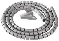 Fellowes Gaine de câbles 'Câble Zip', longueur: 2,0 m, noir