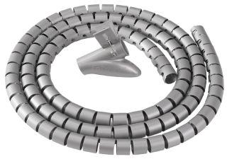 Fellowes Gaine de câbles Câble Zip, longueur: 2,0 m, noir