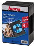 hama Boîtier vide pour DVD, Jewel Case, noir