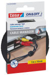 tesa On & Off Serre-câbles velcro Cable Manager Universal