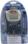 ANSMANN Testeur de batterie 'ENERGY CHECK LCD'