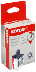 Kores Encre G1525C remplace brother LC-123C, cyan