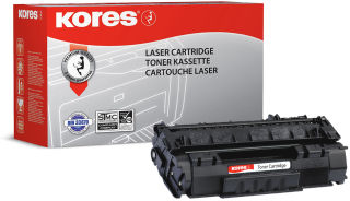 Kores Toner G1233RBB remplace hp CE411A, cyan