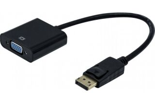 Convertisseur DisplayPort actif 1.2  vers VGA + audio stéréo