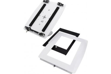 SECURITYXTRA SUPPORT PIVOTANT BLANC SÉCURISÉ IPAD 9,7""