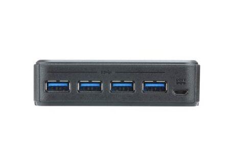 ATEN US3324 HUB 4 ports USB 3.1 Gen1 partagés 2 PC/MAC Type-C+A