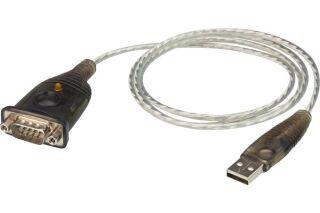 ATEN UC232A1 Convertisseur USB 2.0 vers RS-232 câble 1m