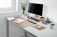 sigel Support pour écran uni smartstyle, look bois métallisé
