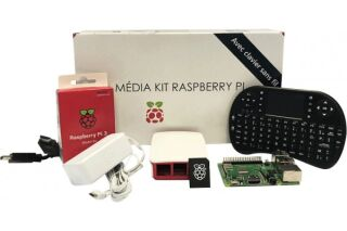 Kit Média Center Raspberry PI 3 B+