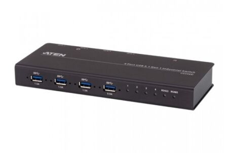 ATEN US3344i Switch Indust. 4 ports USB 3.1 pour 4 PC