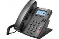 POLY VVX 201 téléphone de bureau IP PoE - 2 lignes SIP