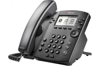POLY VVX 311 téléphone de bureau IP PoE - 6 lignes SIP