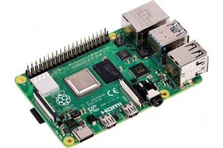 Carte Raspberry Pi 4 modèle  B 2Go
