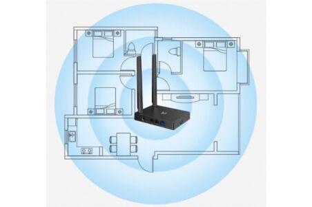 NETIS N4 Mini Routeur WiFi 5 AC1200 2 ports Gigabit