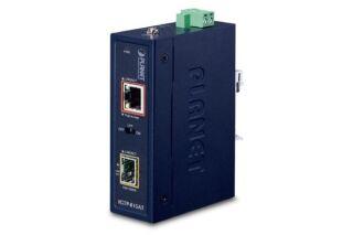 PLANET IGTP-815AT Injecteur PoE+ Indust Gigabit 36W / fibre SFP 100/1G