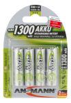 ANSMANN Batterie NiMH, maxE Mignon AA, blister de 4