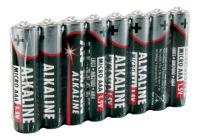ANSMANN Pile alcaline, Micro AAA, lot de 8