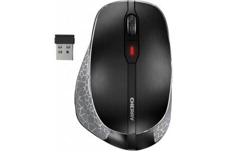 CHERRY Souris MW 8 ERGO sans fil nano USB / BT noire