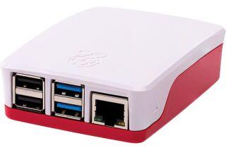 Boîtier Officiel pour Raspberry Pi 4 Rouge/blanc