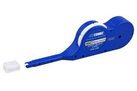 Cassette de nettoyage de connecteur fibre MPO/MTP