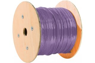 cable double mono f/utp CAT6 violet LS0H rpc Eca-305M
