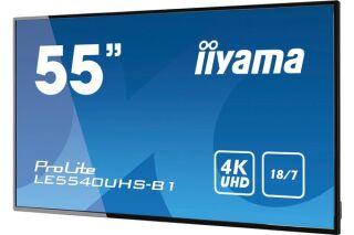 "IIYAMA afficheur professionnel 55"" LE5540UHS-B1 4K UHD 18/7 HP"