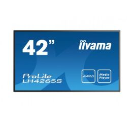 "IIYAMA afficheur professionnel 42"" LH4265S-B1 FHD 18/7 HP chassis metal"