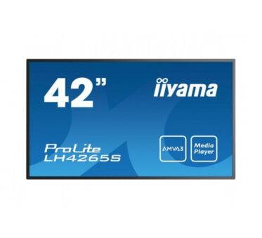 """IIYAMA afficheur professionnel 42"""" LH4265S-B1 FHD 18/7 HP chassis metal"""