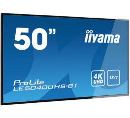 "IIYAMA afficheur professionnel 50"" LE5040UHS-B1 4K UHD 18/7"