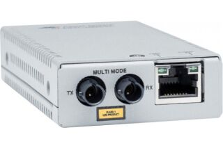 ALLIED AT-MMC2000/ST-960 Media Converter RJ45 Gigabit to 1000SX MM, ST Duplex