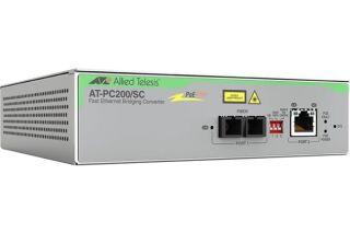 ALLIED AT-PC2000/SC-60 Convertissseur Gigabit PoE+ vers 1000SX SC