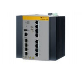 ALLIED AT-IE300-12GP-80 Switch Industriel Niv.3 8p Gigabit PoE+ & 2 SFP 100/1G