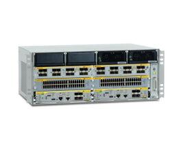 ALLIED AT-SBx8106 Châssis 4U Niv3+ 6 slots - 2 CFC et 4 à 5 SwitchBlade x81xx