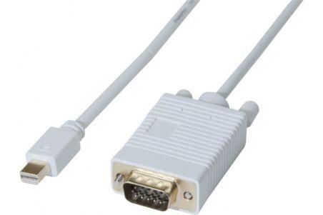 DACOMEX Sachet cordon Mini DisplayPort 1.1 vers VGA - 2 m
