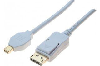 DACOMEX Sachet cordon DisplayPort / Mini DisplayPort 1.2- 2m