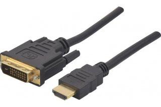 DACOMEX Sachet Cordon HDMI / DVI - 2,0 m